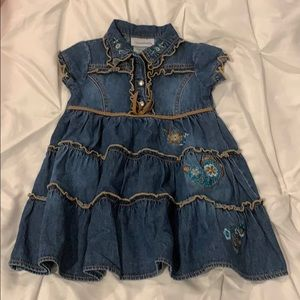 Toddle girl 2T Youngland denim dress